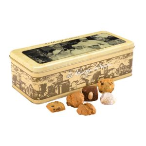 Tuscan Almond Biscuits Assortment - Italian Le Dolcezze di Nanni Large Gift Tin 500g